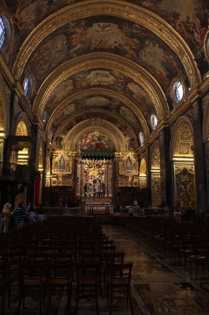 Interior Concatedral San Juan, Valletta, Malta