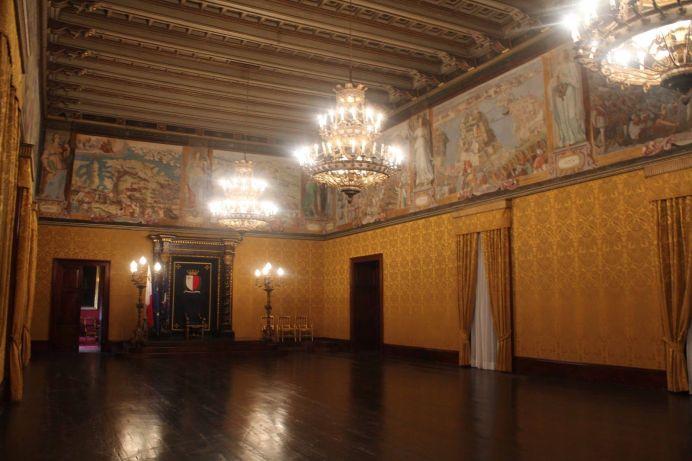 Sala del Maggior Consiglio, Valletta