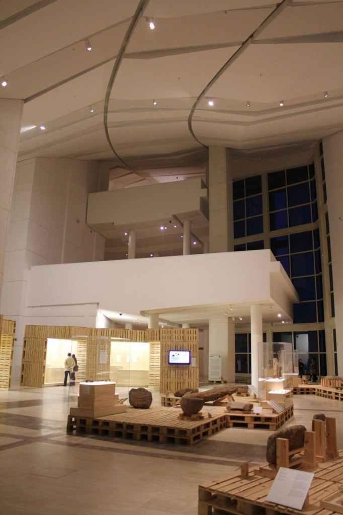 Ciudad de la Cultura - Interior museo