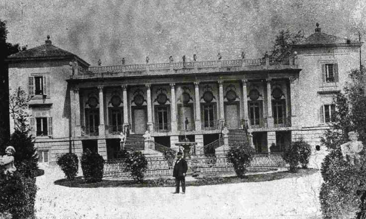 Palacio de la Alameda de Osuna 1879
