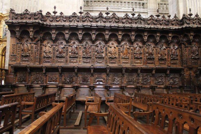 Coro bajo (detalle) - Monasterio de San Salvador de Celanova
