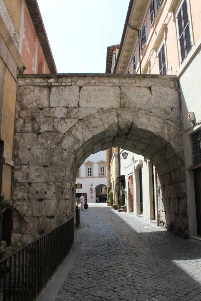 Arco de Druso y Germanico