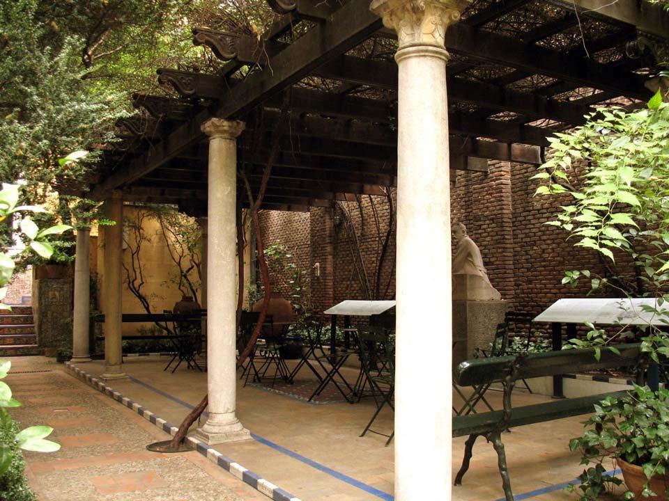De ruta por madrid el jard n del museo sorolla croma for Jardin las pergolas