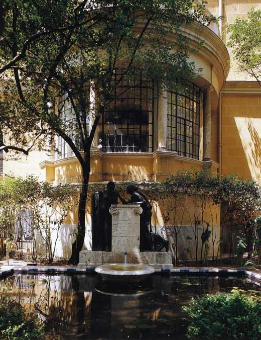 De ruta por madrid el jard n del museo sorolla croma for Casa y jardin bazaar 2013