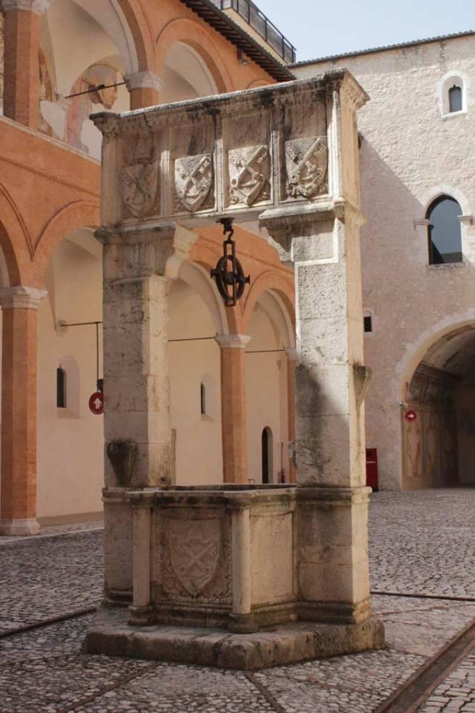 Patio de la Rocca Albornoziana
