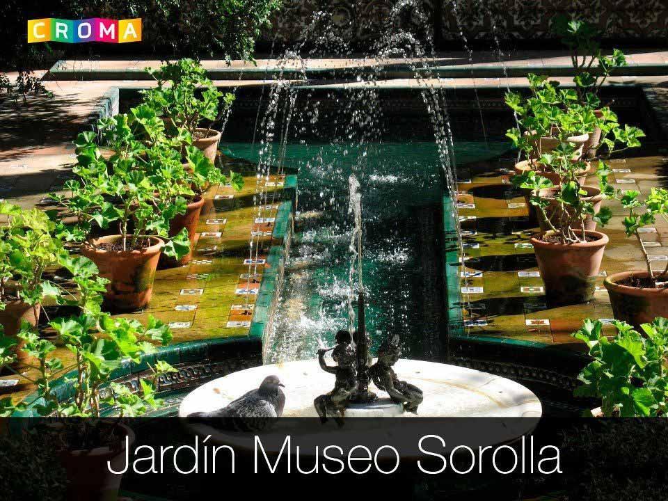 De ruta por madrid el jard n del museo sorolla croma for Residencia el jardin madrid