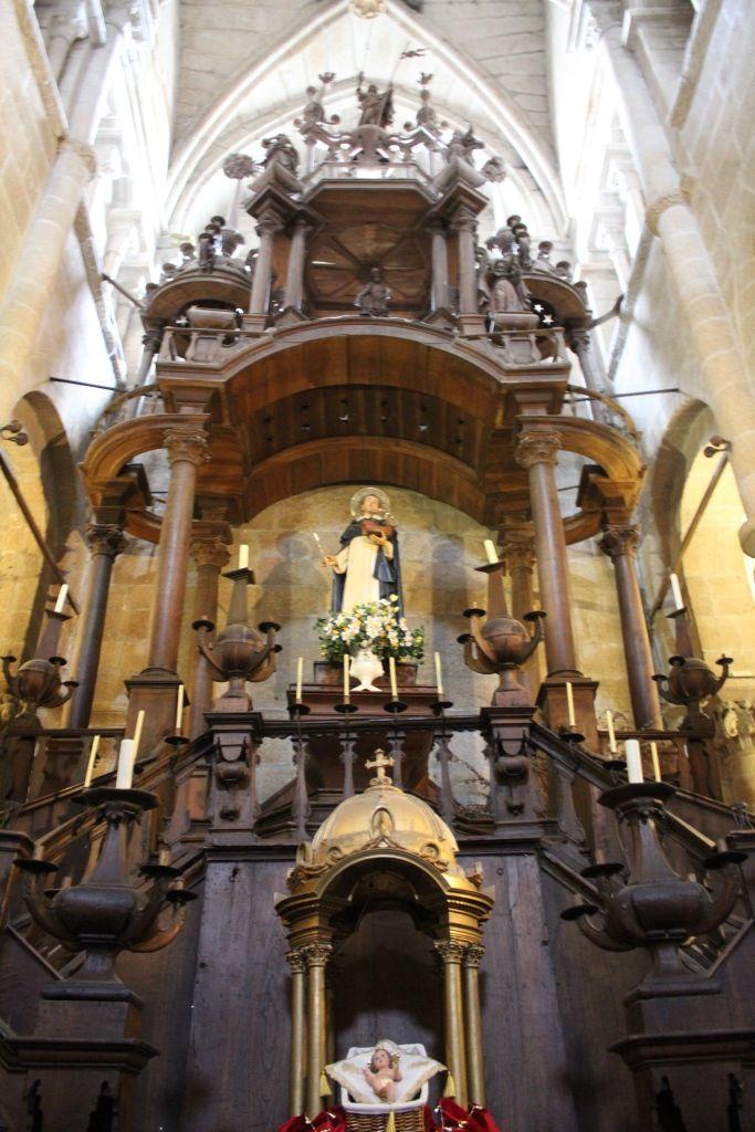 Altar de Semana Santa, Catedral de Tui.