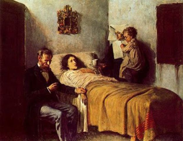Pablo Picasso - Ciencia y caridad, Museo Picasso de Barcelona, 1897.