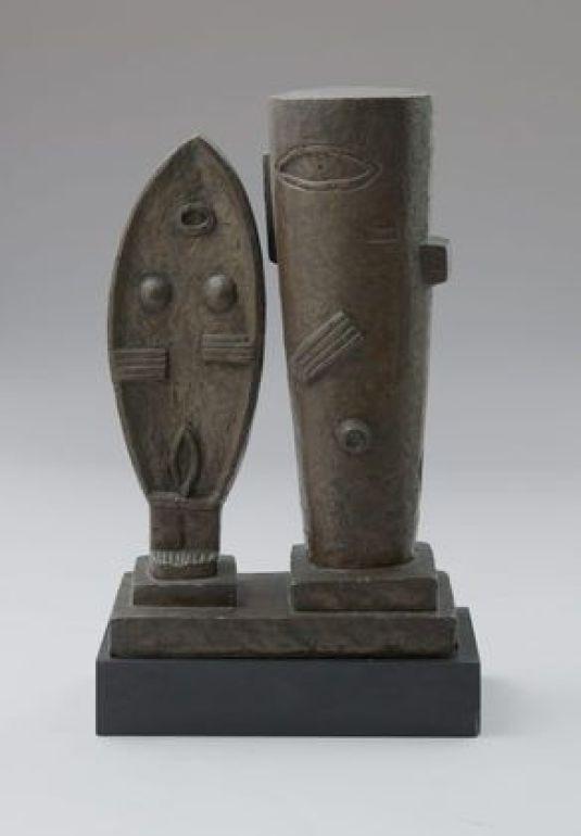 La Pareja, 1927. The Museum of Modern Art.La Pareja, 1927. The Museum of Modern Art.