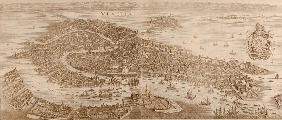 Venecia en el siglo XVII.