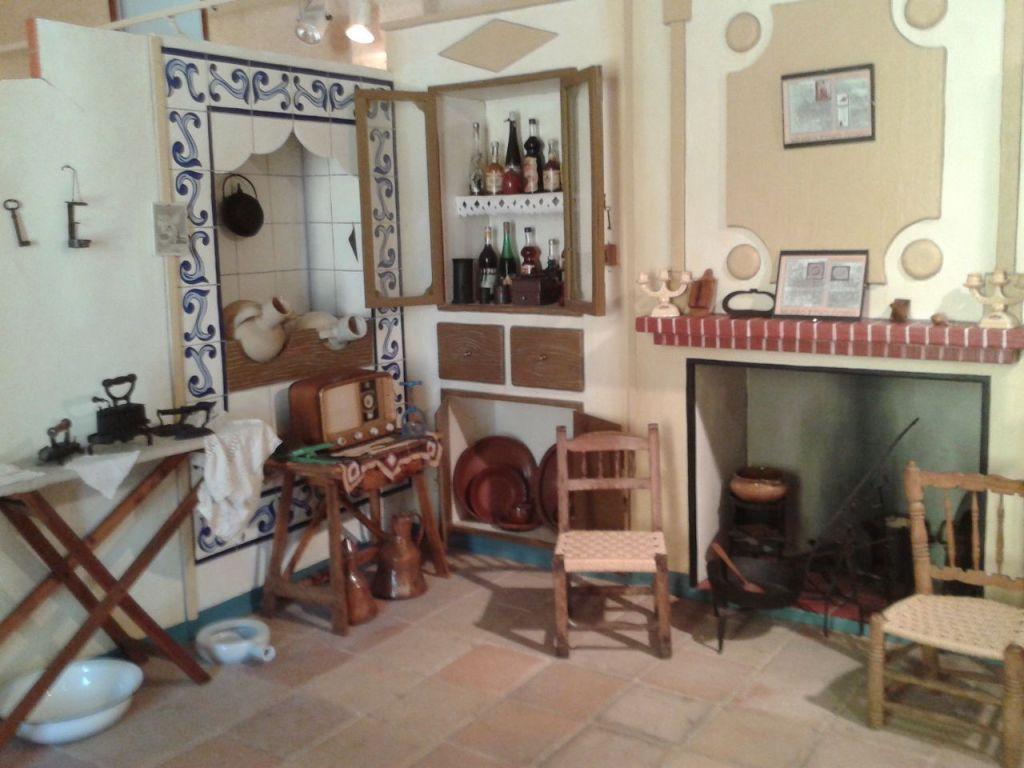 Recreación doméstica. Sala de Etnología, Museo de Buñol. Iglesia del Salvador, Castillo de Buñol.