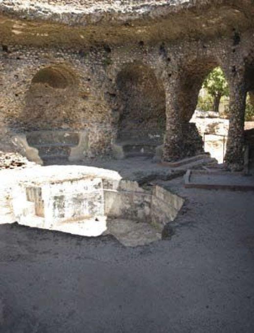 Zona central. Bóveda o Termas de Guadalmina (Marbella)