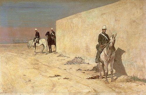 Giovanni Fattori. La Guardia