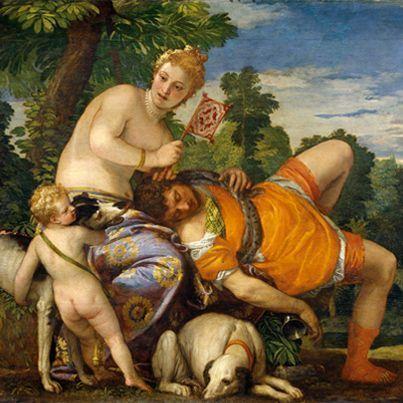 La Mitología en el arte: Venus y Adonis