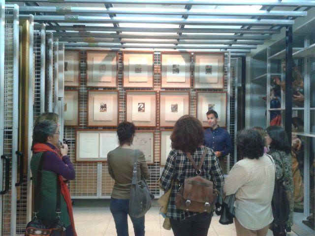 Una visita guiada por los fondos de Bellas Artes, ofrecida por el director Pablo Guisande
