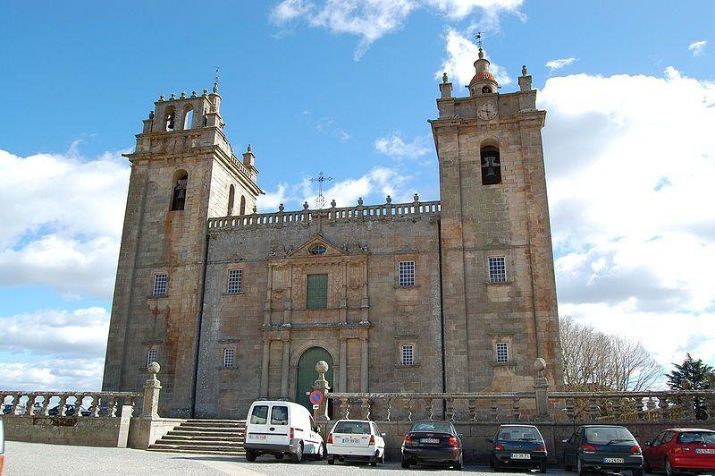 Fachada de la catedral. Miranda de Douro.