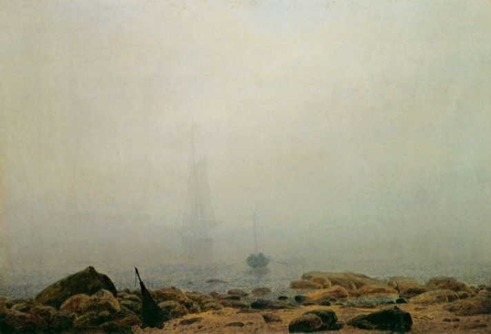 Caspar David Friedrich, Neblina.