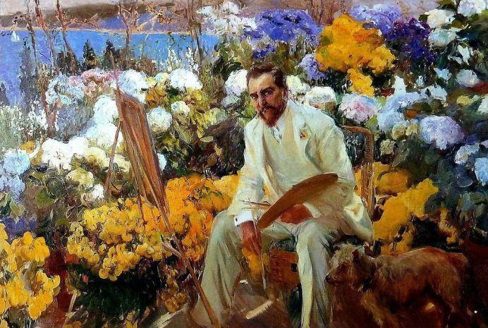 Luois Comfort Tiffany. 1911. Óleo sobre lienzo. 150,5x225,5cm. The Hispanic Society of America, Nueva York.