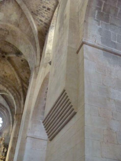 Monasterio de Santes Creus, interior de la iglesia.