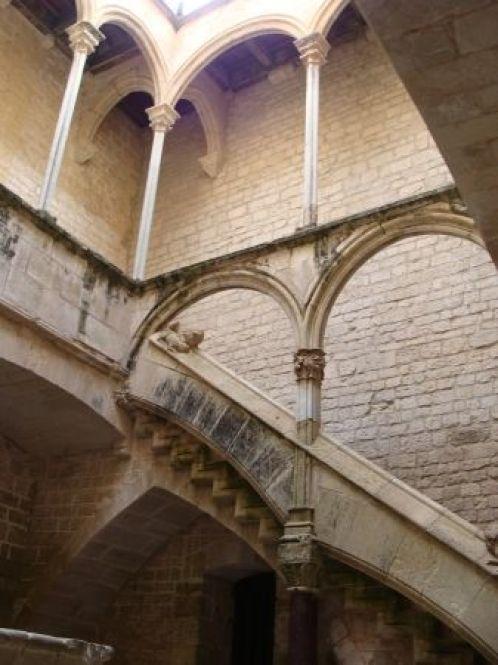 Interior del Palacio Real.
