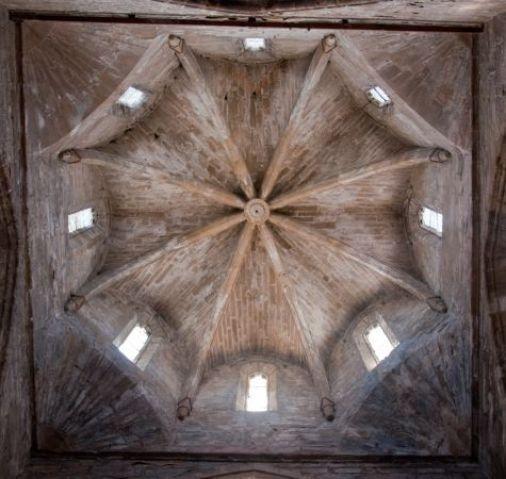 Monasterio de Vallbona. Detalle del Cimborrio.