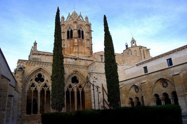 Claustro del Monasterio de Vallbona.
