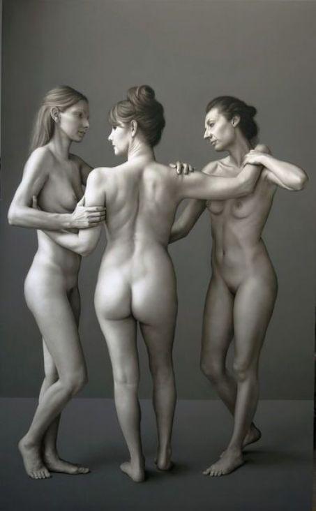 Bernardo Torrens Three Graces, 2013-2014. Bernarducci.Meisel Gallery.