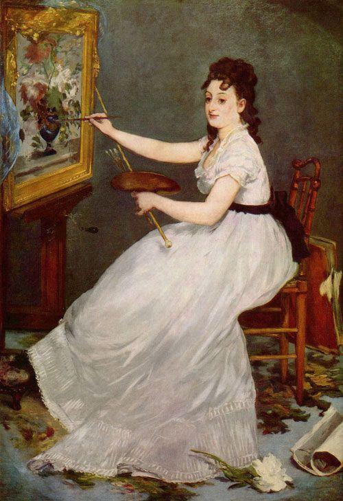Èdouard Manet, Eva Gonzalès, 1870