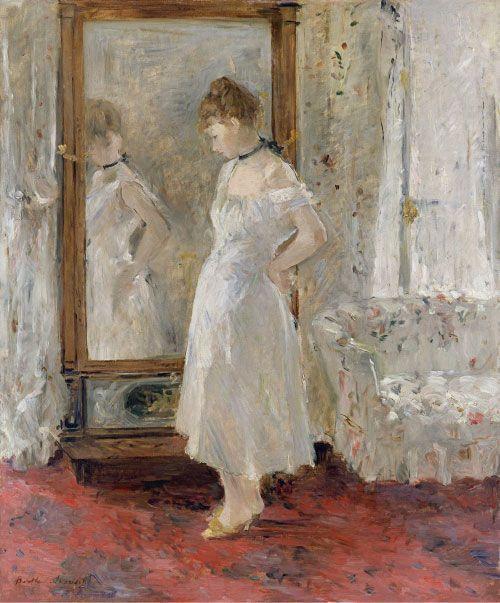 Berthe Morisot, El Espejo de Psique, 1876