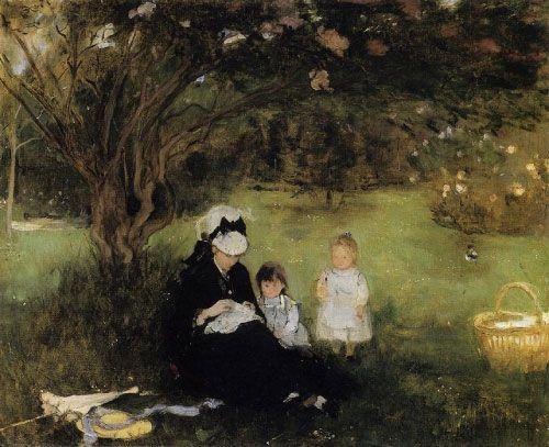 Berthe Morisot, El lilo de Maurecourt, 1874