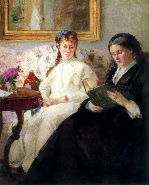 Berthe Morisot, La lectura, 1870