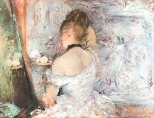 Berthe Morisot, Mujer en el baño, 1875.