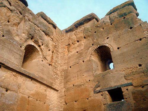Interior de la Torre atalaya