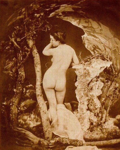 Baigneuse Auguste Blloc en el Moullin Rouge.