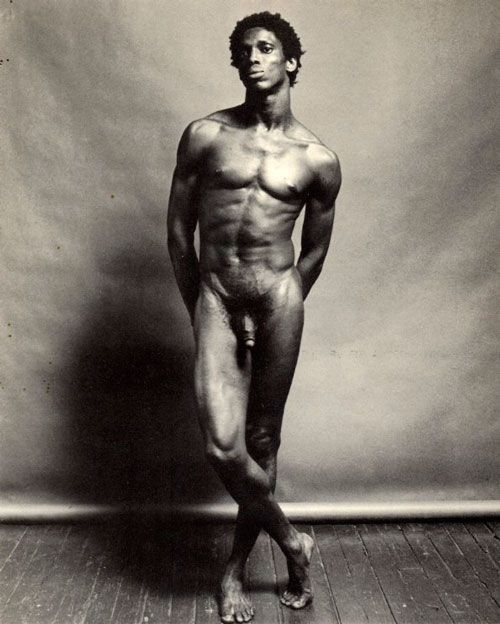 Robert Mapplethorpe, Allistair Butler, nude, 1980.