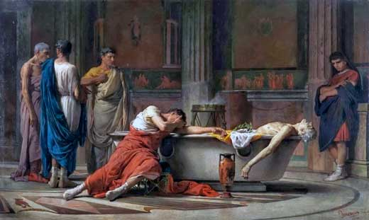Muerte de Séneca