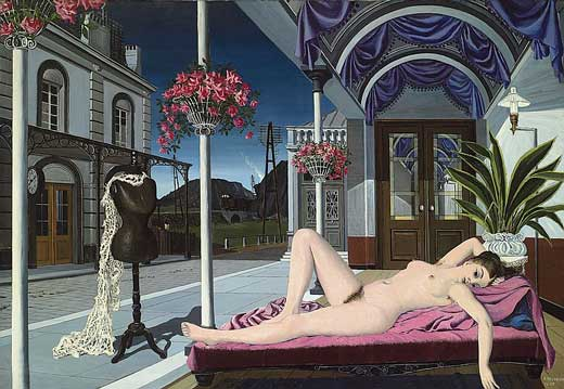 Desnudo y maniquí, 1947