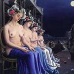 Paul Delvaux Sirenas