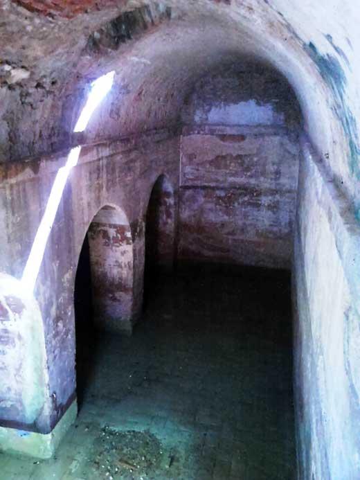 Aljibe del castillo de Moguer