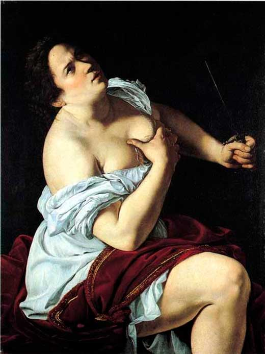 Artemisia Gentilleschi, Lucrecia