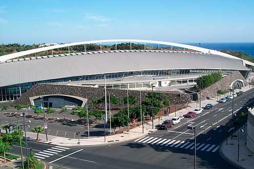 Centro Internacional de Ferias y Congresos de Santa Cruz de Tenerife, realizado por Santiago Calatrava.