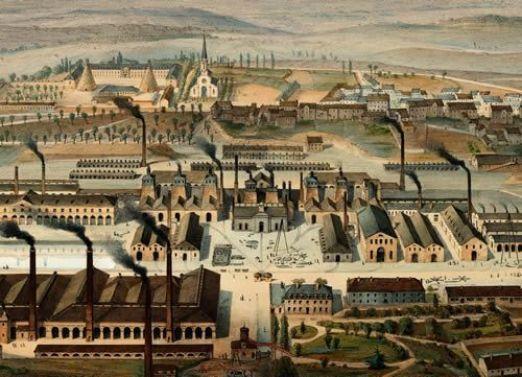 Le Creusot, 1847.
