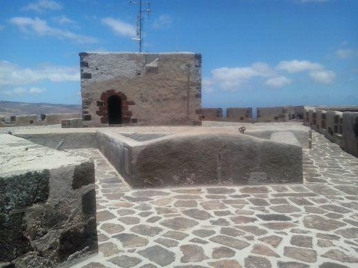 Cubierta del Castillo de Santa Bárbara. Actual Museo de la Piratería.