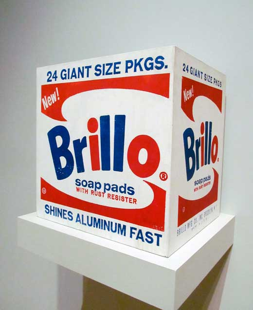 Andy Warhol, Brillo Box, 1964.
