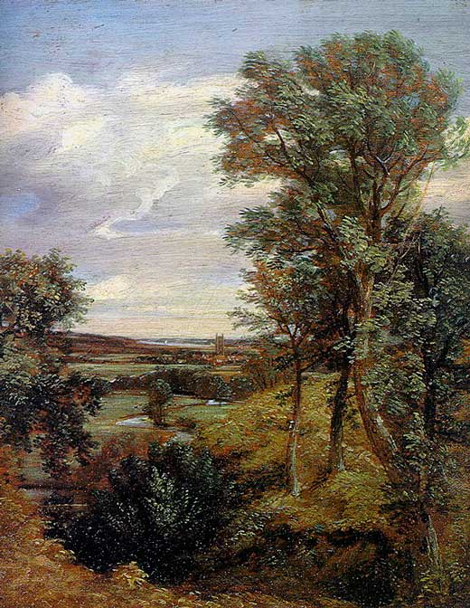 John Constable, Dedham Vale, 1802, Victoria & Albert Museum, Londres