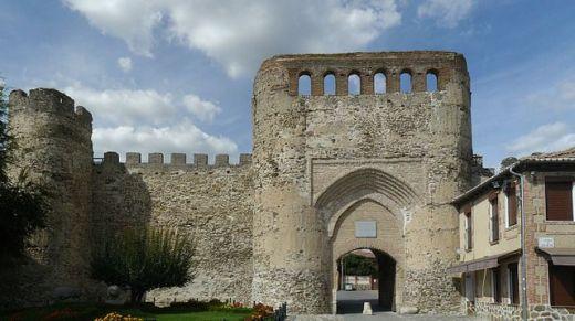 Murallas medievales y Puerta de Coca.