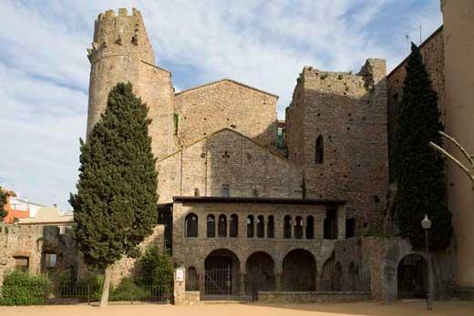 Monasterio de Sant Feliu de Guíxols.