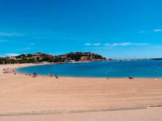 Playa Sant Feliu Guíxols.