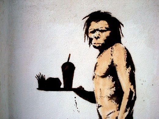 Banksy, Caveman, c. 2008.