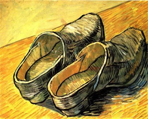 Vincent van Gogh, Un par de zuecos, 1889, Museo Van Gogh, Ámsterdam.